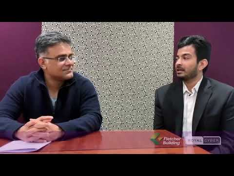 Royal Cyber Client Testimonials: Ritesh Patel from Fletcher Building; a Building Material Company